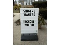 female singer or musician needed