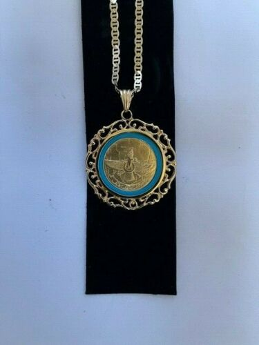 Farvahar Zoroaster Necklace Persian Memorabilia I