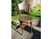 Rare Original Vintage/Antique Thonet Bentwood Chair (Vienna, 1900's)