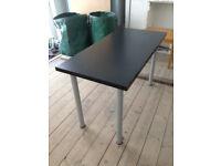 Ikea Adils/Linnmon style office desk work table