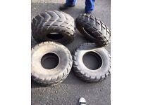 Quad Bike tyres x4