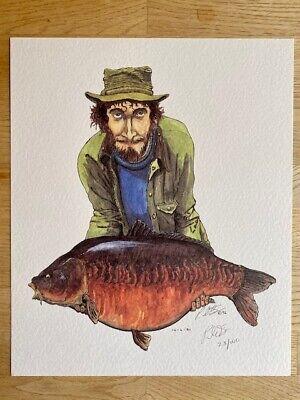 Ltd Ed Prints Chris Yates Jack Hilton Richard Walker Redmire Pool Not Carp Book