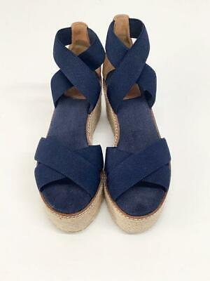 Tory Burch Size 8 Navy Shoes platforms