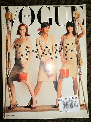 Vogue Italia 2/1998 Eugenia Silva Elsa Benitez Natalie Portman Peter Lindbergh