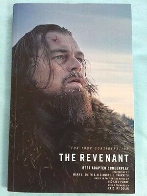 THE REVENANT: FOR YOUR CONSIDERATION BEST ADAPTED SCREENPLAY - ACADEMY (Award For Best Screenplay)