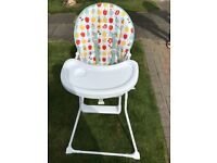 2 Highchairs in full working order