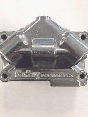 Holley Carburetor parts Dominator Fuel Bowl Bright Zinc