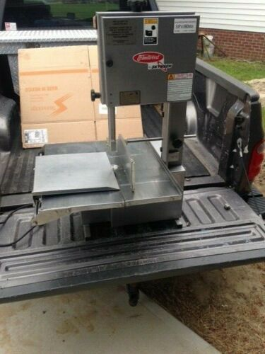Commercial Skymsen Fleetwood MSKL Countertop Tabletop Meat Bone Saw Bandsaw