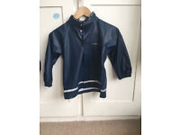 Polarn o Pyret Navy Rain Jacket - Size 2-4 years, Unisex