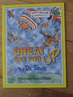 Dr Seuss Great Day For Up Paperback Book