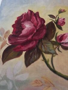 """NICHOLSON PAINTING """"ROSES FOR FRIENDSHIP"""""""