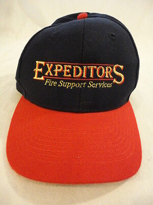 Mens Expeditors Fire Support Services Snapback Cap Hat