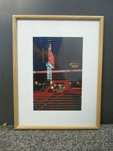 """The Metro Diner Print/Photo 12"""" x 8"""" Matted & Framed Photographic Image"""