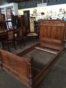 Vintage French Child's Single Bed Richmond Hawkesbury Area Preview