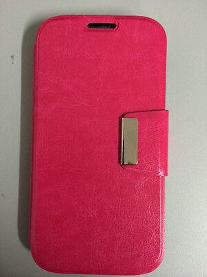 Funda Flip BOOK LG G3 libro con cierre ROSA +PROTECTOR GRATIS ENVIO GRATIS ()