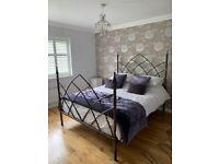 Stunning Handmade Bespoke Wrought Iron Bed