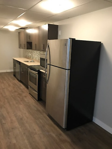 Brand new 1 Bedroom Apartment utilities included