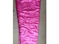 Sleeping bag pink