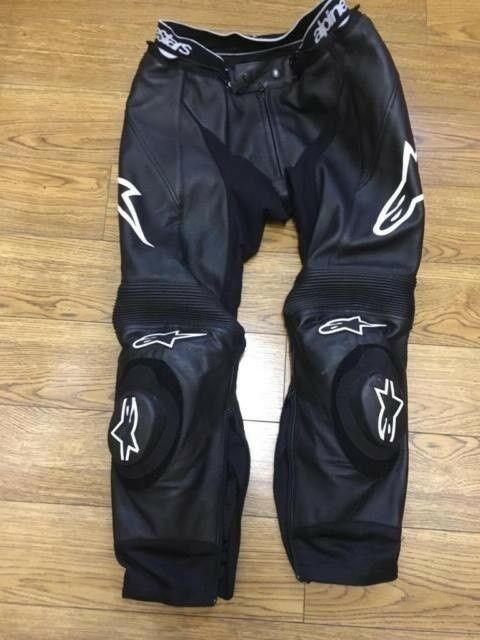 Alpinestars challenger v2 leathers