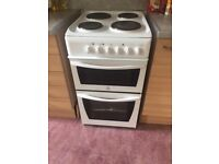 Indesit Freestanding Electric Cooker, White