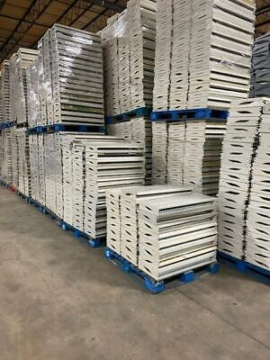 100 Used 14 X 36 Darling Brand Gondola Shelves White Free Shipping To Business
