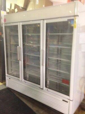 Turbo Air 3 Door Glass Door Refrigerated Merchandiser Tgm-72sdw