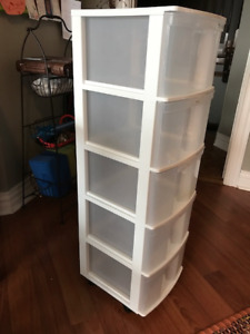 Two Storage Units - Great for Craft Storage