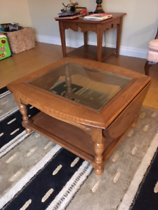 Coffee Table and two end tables - REDUCED PRICE!
