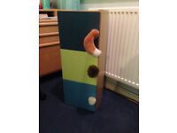 Child's cupboard with Fluffy Tail handles