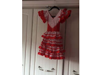 Spanish style dress for Halloween party