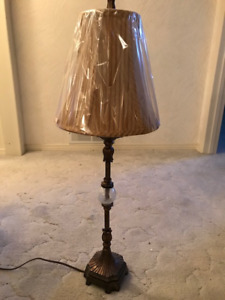 Two Bombay Company Table Lamps