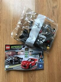 Parts of Lego Speed Champions (from kit 75874 Chevrolet Drag Race)
