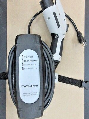DELPHI 120V 12A LEVEL1 ELECTRIC CAR CHARGER J1772  CAME FROM VOLKSWAGEN E GOLFS