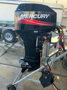 40hp Mercury Outboard Motor S2690 Southport Gold Coast City Preview