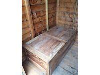 Wooden Chest / Trunk / Blanket Box