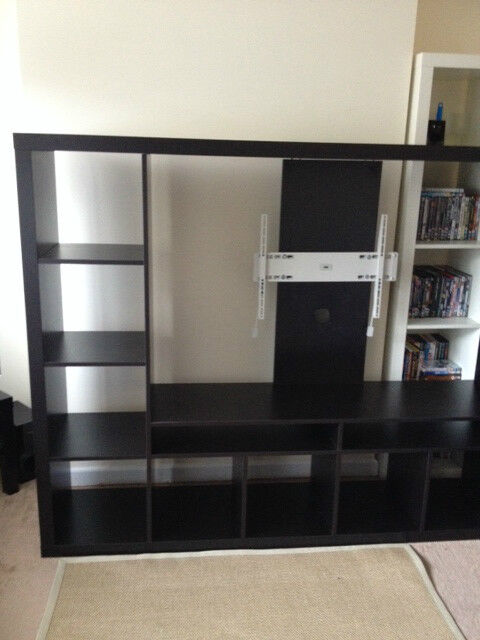Ikea Lappland Tv Stand With Tv Wall Mount Uppleva In