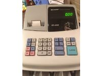 Sharp Cash Register XE-A102 - Easy to Use - Excellent Condition