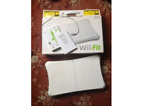 Wii fit board and game with rechargeable battery