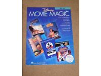Disney Movie Magic Instrumental Solo Alto Saxophone Learn to Play Sax Music Book
