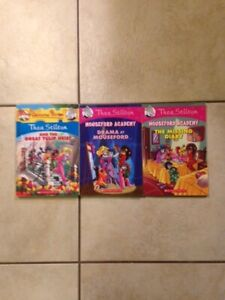 Thea Stilton Mouseford Academy COLOUR Chapter Book SET for Sale