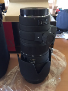 SIGMA 70-200mm F2.8 APO  AF Filter Size 77 pour CANON