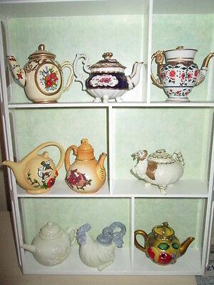 Über 3.000 Miniaturkännchen Mayfair Teekanne OVP mit Zertifikat 9 versch.Modelle