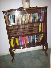 Dark wood (emboya) vintage book case Kinross Joondalup Area Preview