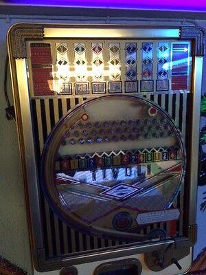 Wulff Tivoli Spielautomat 1961 Vintage