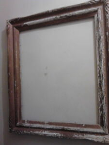 Shabby Chic Wood Antique Picture Frame