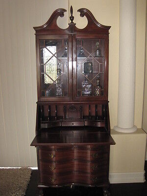 Secretary Desk, Traditional Style with Claw Feet