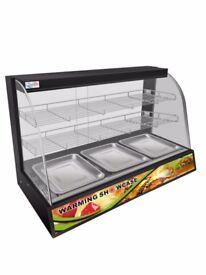 Hot Food Chicken Warmer Display Cabinet Showcase insulation cabinet catering equipment
