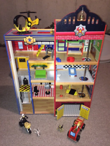 Hometown Heroes Wooden Play Set - $78 OBO
