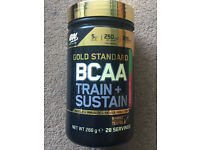 Optimum Nutrition Gold Standard BCAA Train + Sustain, BNIB