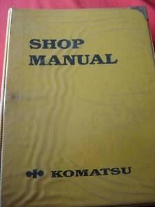 KOMATSU WA470-3 LOADER WORKSHOP SERVICE MANUAL c1997 Dianella Stirling Area Preview